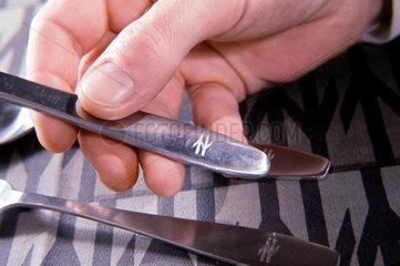 Knife with British Rail logo  1964.