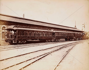 Pullman train  1876.