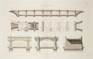 Glasgow Bridge  1838.