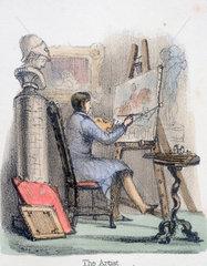 'The Artist'  c 1845.
