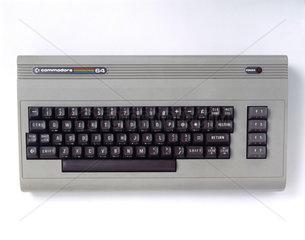 Commodore 64 microcomputer  c 1985.