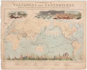 'Phenomena of Volcanoes and Earthquakes'  3 June 1852.