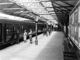 Windermere Station  1931.