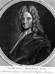 Edmond Halley  English astronomer  c 1700.