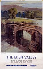 'The Eden Valley'  BR (LMR) poster  1959.