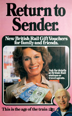 'Return to Sender'  poster  1981.
