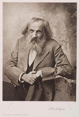 Dmitry Ivanovich Mendeleyev  Russian chemist  c 1905.