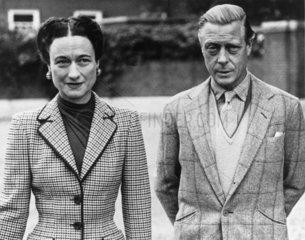 The Duke and Duchess of Windsor  12 October 1946.