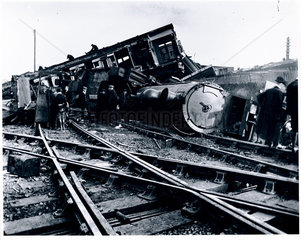 The aftermath of a serious accident  Shropshire  15 October 1907.