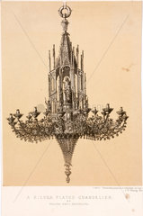Chandelier  Spain  1862-1863.