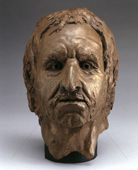 Bleadon Man's head  1997.