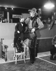 'Jack Williams  the tall cowboy  with beard