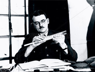 Frank Whittle  British inventor of the jet engine  7 January 1944.