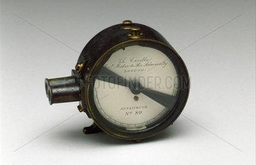 Pocket altazimuth  1871-1900.