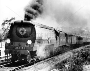 A4 Class steam locomotive 'Mallard' with a