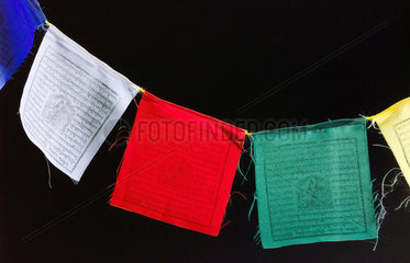 Buddhist prayer flags  2005.