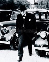 Winston Churchill  London  September 1939.