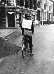 England's first air raid  1 September 1939.