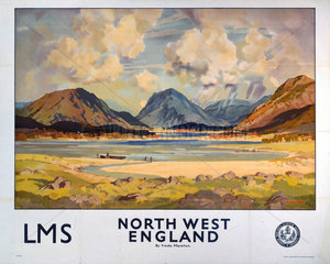 'North West England'  LMS poster  1923-1947.