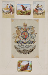 Royal coat of arms  1862.