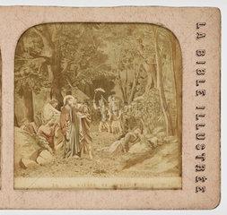 'Le Baiser de Judas'  c 1880 .