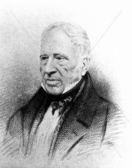 Sir George Cayley  British aviation pioneer  19th century.
