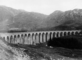 Glenfinnan Viaduct  between Fort William an