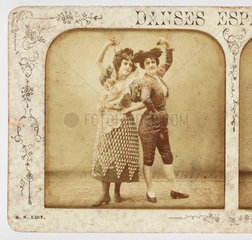 'Danses Espagnoles'  c 1895.