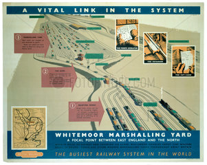 'A Vital Link in the System'  BR poster  1948-1965.