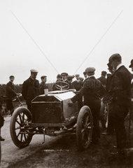C S Rolls' Napier during the elimination trial for the Gordon Bennett Trophy  1903.