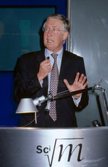 Michael Meacher at the Science Museum  London  2002.