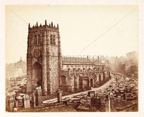 Bradford Cathedral  c 1855.
