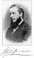George William Wigner  English chemist  c 1870.