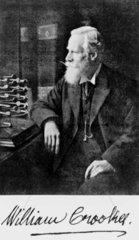 Sir William Crookes  English chemist and physicist  c 1905.