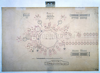Plan of the analytical engine  1840.