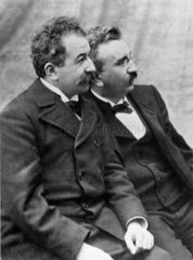 Lumiere brothers  c 1920s.