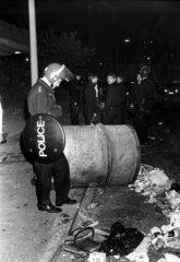 Brixton riots  London  September 1985.
