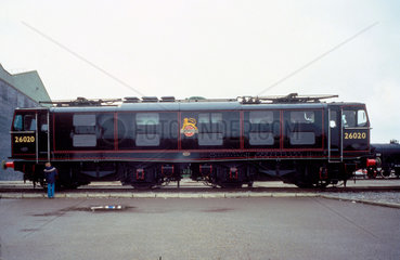 BR Electric Locomotive  Bo-Bo  no 26020  19