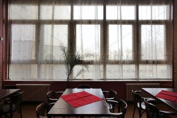 Budweis  Tschechische Republik  Restaurant in einem Veranstaltungsgebaeude