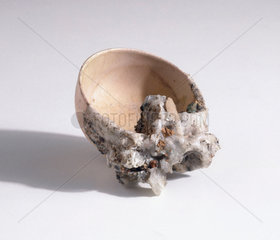 Rice bowl from Hiroshima  1945.