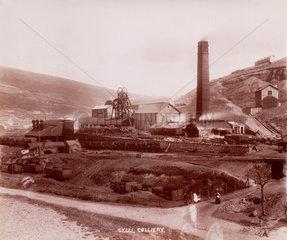 Gelli Colliery  Ystrad  Rhondda Cynon Taff  South Wales  1890-1895.