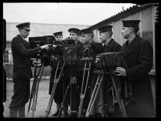 Royal Navy photographers  16 February 1938.