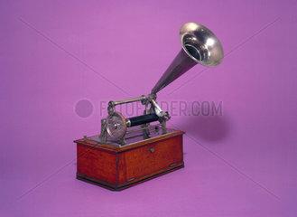 Graphophone dictation machine.
