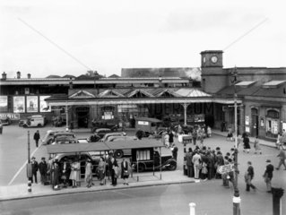 The booking office at Watford Junction  Sep