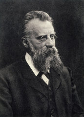 Franz Hofmeister  German physiologist  c 1910s.