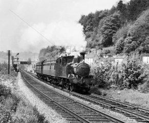 Steam locomotive  25 May 1963.