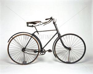 Singer 'safety' bicycle  1890.