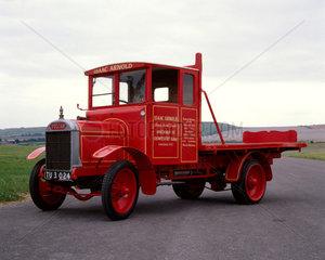 Vulcan type VSD  two ton lorry  1926. Dimen