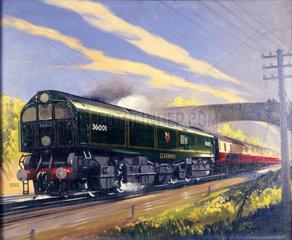 Leader class locomotive number 36001 haulin