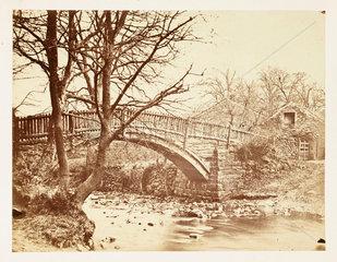 A small bridge  c 1855.